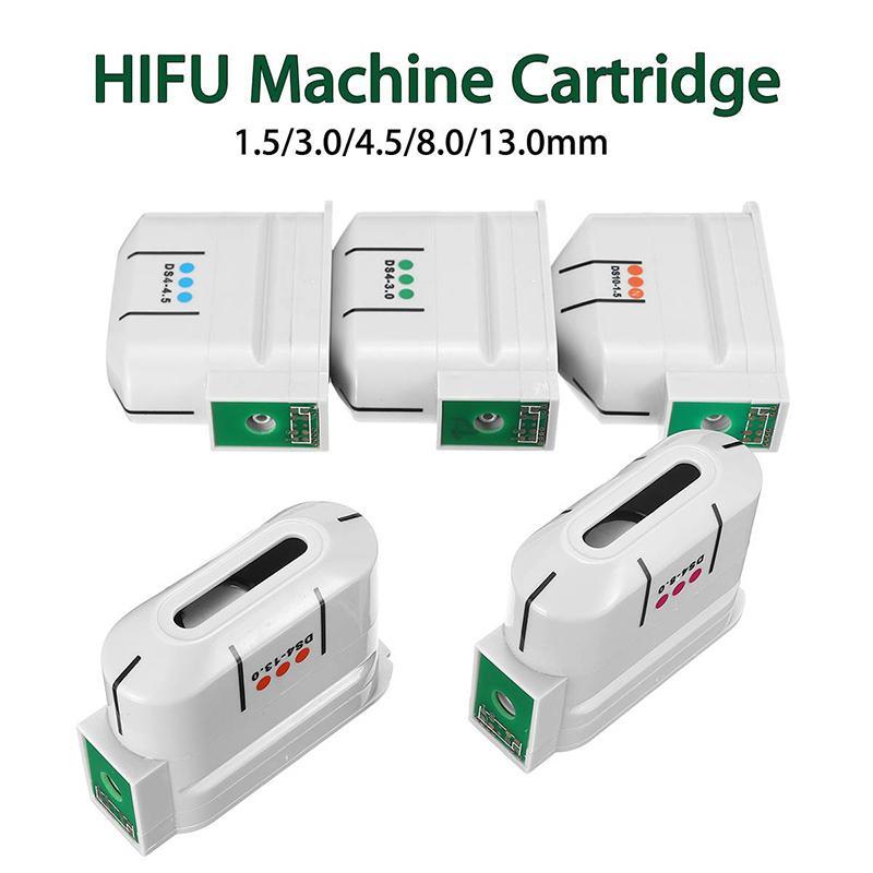 HIFU استبدال خراطيش 10000 طلقات عالية الكثافة التركيز الموجات فوق الصوتية آلة هيفو الوجه رفع الجسم إزالة التجاعيد الجسم