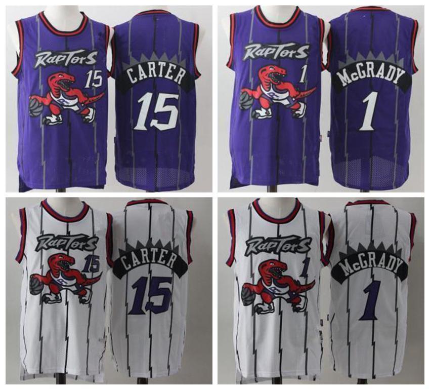 Pascal 43 Siakam TorontorapacesTracy McGrady Jersey 1 Vince Carter 15 Lowry 23 VanVleet jerseys del baloncesto 0808