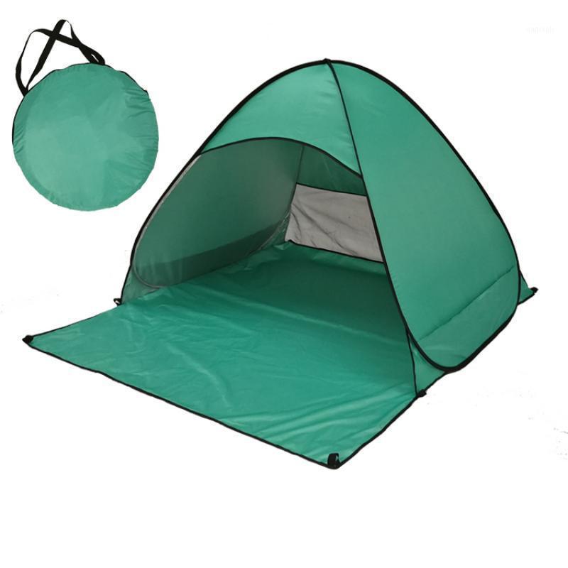 Al aire libre 2-3 persona automática impermeable camuflaje camping caminata carpa familia para viajes al aire libre Senderismo 150 * 165 * 100 cm1