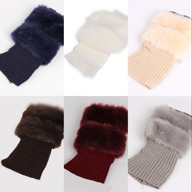 20 см плюшевые ноги теплые рождественские женские ботинки носок чехлы длинные линии вязание ноги в рукаве ног мода леди зима нет карты 6 3JS G2