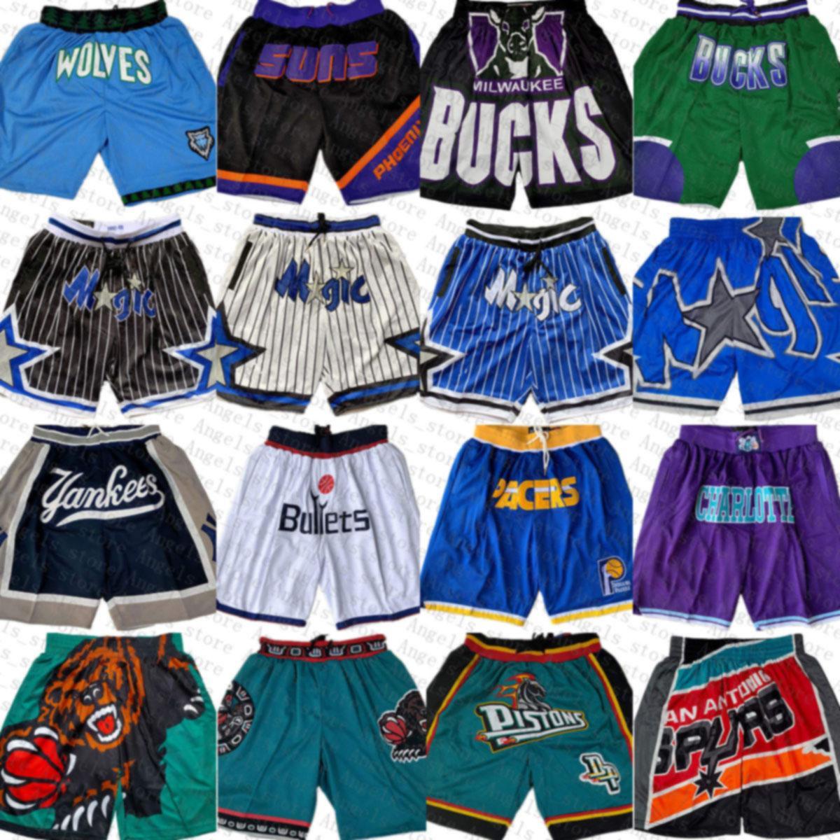 OrlandoMagia Minnesota.TimberwolminIndianaPacers Phoenix.SóisCharlotte.Hornets.Apenas shorts de basquete don