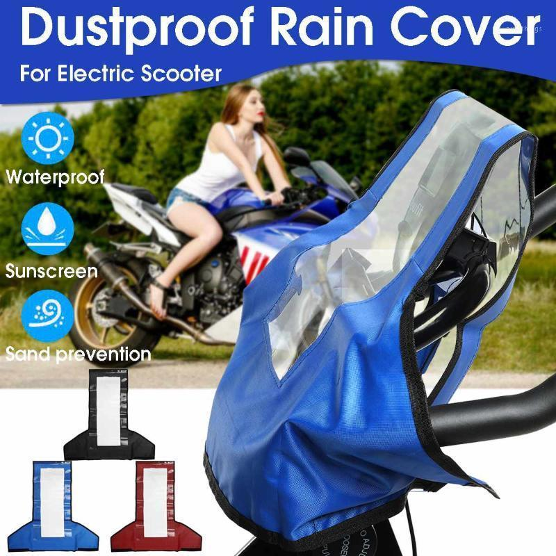 Motorcycle Cover Waterproof Outdoor Scooter Electric Bicycle Covers Motor Rain Coat Dust Suitable Fit For Most Scooters Motors1