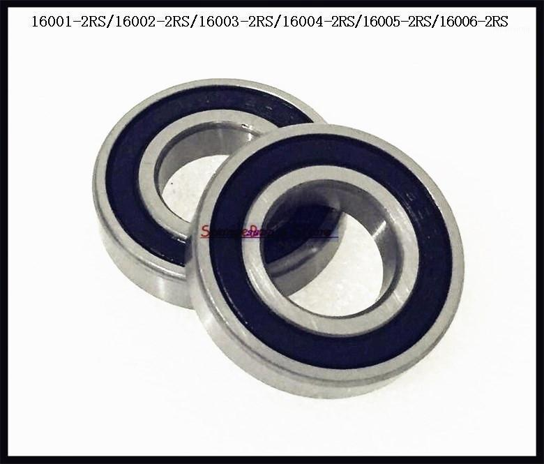 1-4pcs/Lot 16001-2RS / 16002-2RS / 16003-2RS 16004-2RS 16005-2RS 16006-2RS Rubber Sealed Deep Groove Ball Bearing1