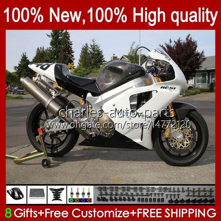 Тело для Honda VTR1000 RC51 SP1 SP2 00 01 02 03 04 06 98HC.18 VTR-1000 VTR 1000 2000 2001 2002 2003 2004 2005 2006 Обсуждение Белый глянцевый