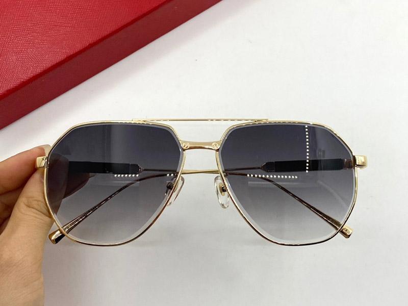 0167S модные солнцезащитные очки с ультрафиолетовой защитой для мужчин Женщины Винтаж Площадь Полный кадр Популярное Высочайшее качество Поставляются с Cass Classic Sunglass BVXW
