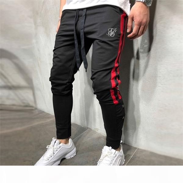 SIKSILK JOGGING Erkekler Spor Sweatpants Koşu Pantolon Spor Pantolon Erkekler Joggers Pamuk Trackpants Slim Fit Pantolon Vücut Geliştirme Pantolon