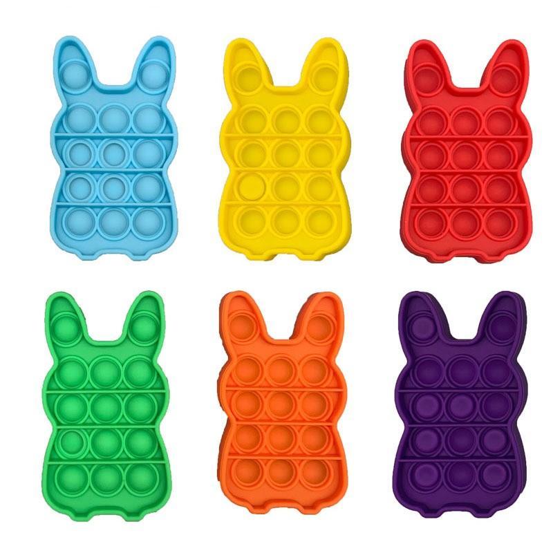 DHL expédition Push Fidget Toys Bubble Sensory Sensory Autisme a besoin d'un stress stress Squishy Stress Releveur adulte Kid drôle Antistress Reliver Stress Jouet