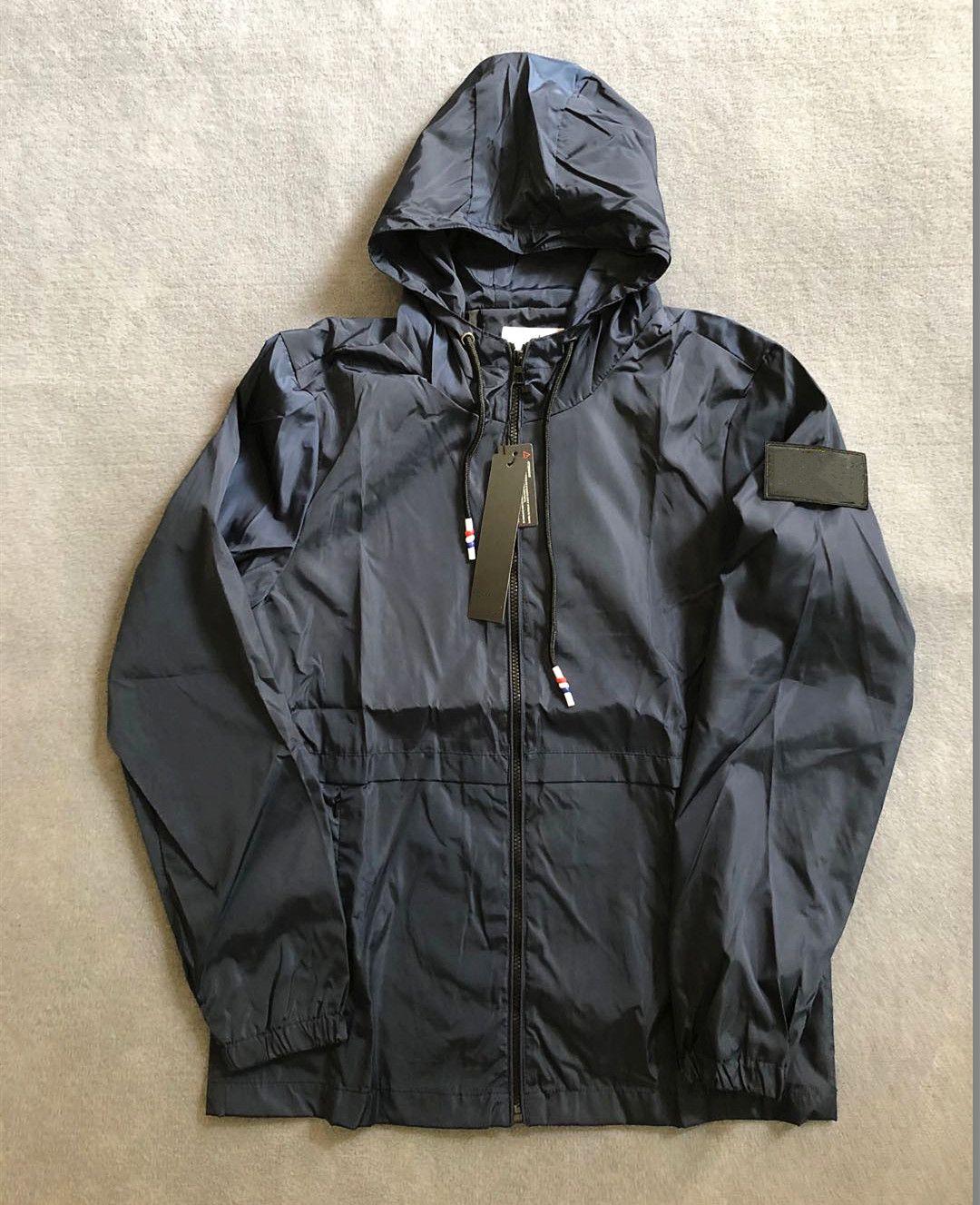 Mens Jacket Coat 가을 Windrunner 자켓 브랜드 스포츠 윈드 브레이커 캐주얼 자켓 남성 탑스 의류 새로운