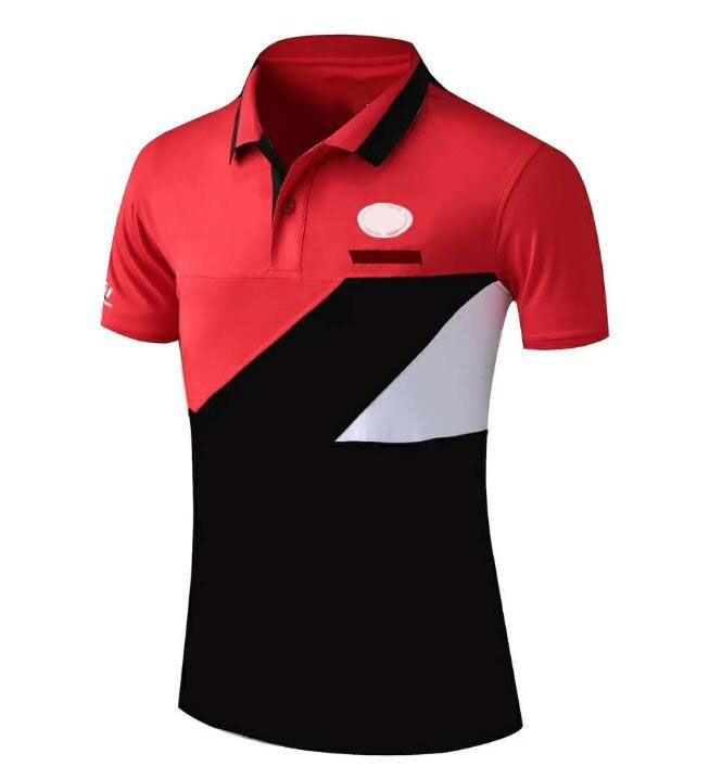 20 Nouvelle costume de moto Polo Chemise à manches courtes Polyester à manches courtes Séchage rapide Racing costume T-shirt à manches courtes Courreur rapide Polo shi