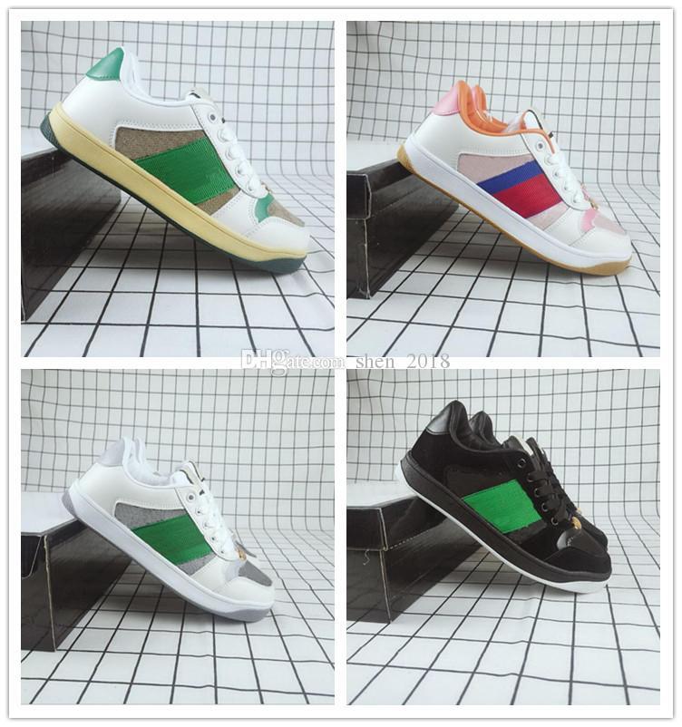 2020 Lussuoso Brand Run Away Sneakers Designer Fashion Designer Uomo e scarpe sportive casual a basso taglio da donna Zapatillas Trainer 36-44