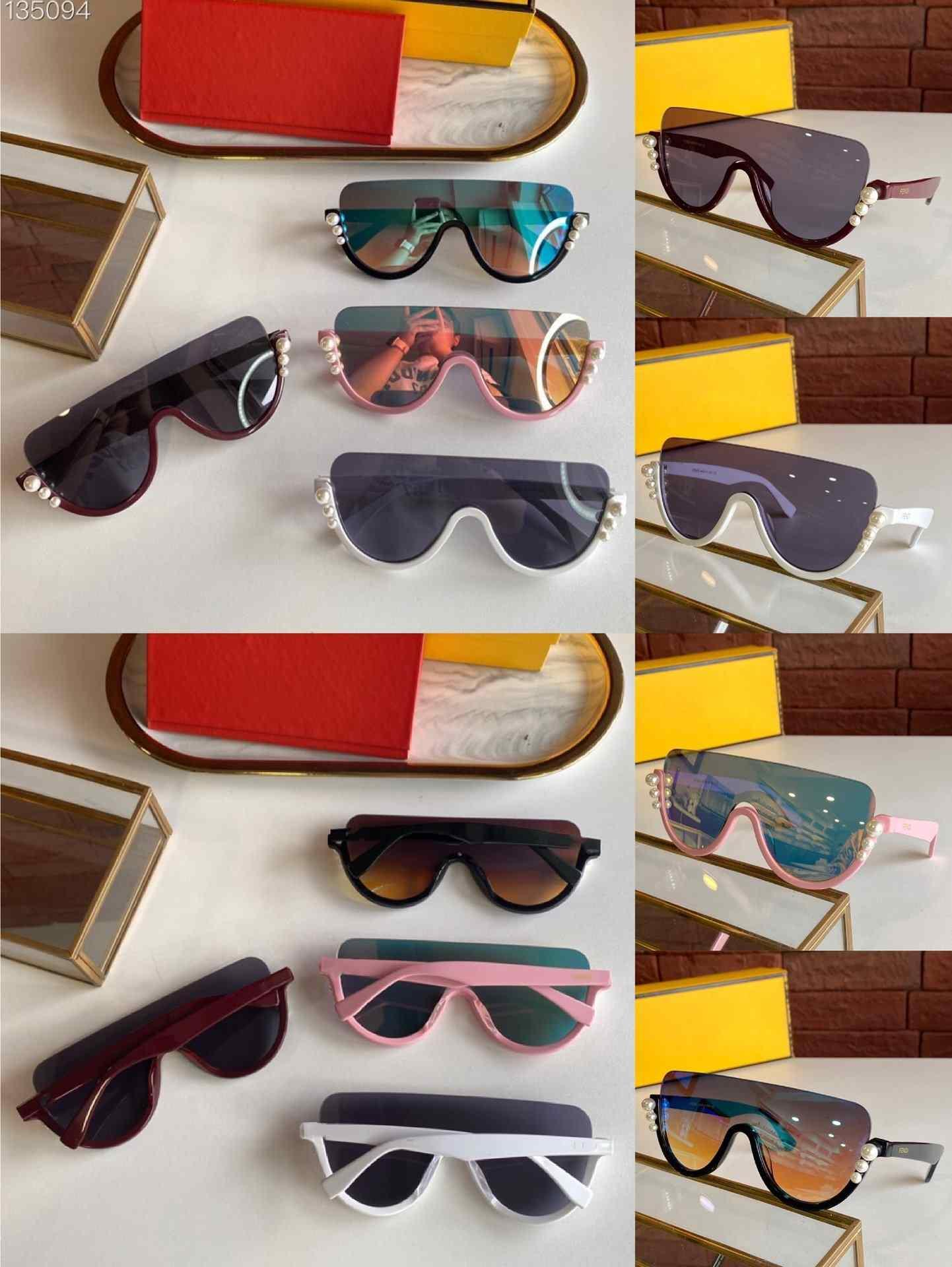 2020 Übergroße rahmenlose Sonnenbrille Frauen Retro Vintage Quadrat Rahmen einteilig Randlose Sonnenbrille Schattierungen Gafas de Sol FF0296