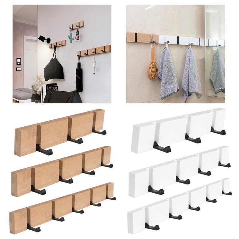 Appendiabiti in metallo pieghevole in metallo per tappezzeria per bagno asciugamano cappello da tasto abbigliamento borsa a parete con cappuccio abbigliamento abbigliamento