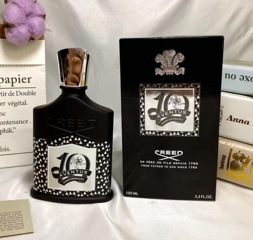Nuevo perfume de calidad genuina Aventus para hombres 100 ml con tiempo de larga duración de buena calidad Capacidad de alta fragancia de alta calidad envío gratis
