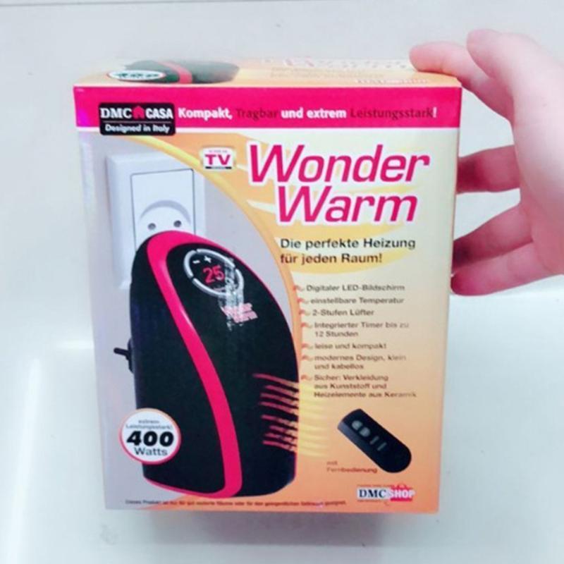 220 V AB Tak Wonder Elektrikli Isıtıcı Hızlı Fan Isıtıcı Kış Isıtıcı Handy Ev Oda Ofis Için Taşınabilir Mini Duvar