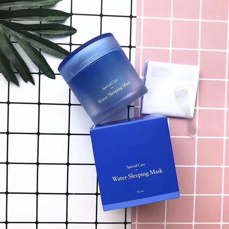 Maschera per il sonno dell'acqua di vendita calda di alta qualità Maschera speciale per la cura dell'acqua per la cura della pelle 70ml