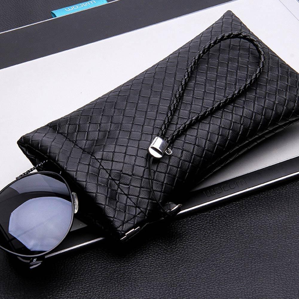 Mínimo de Alta Qualidade Moda Marca Preto Óculos Macios Luz PU Pu Sunglasses Bolsa Soft Eyeglasses Bag Óculos Caso Capa H Jllpjo