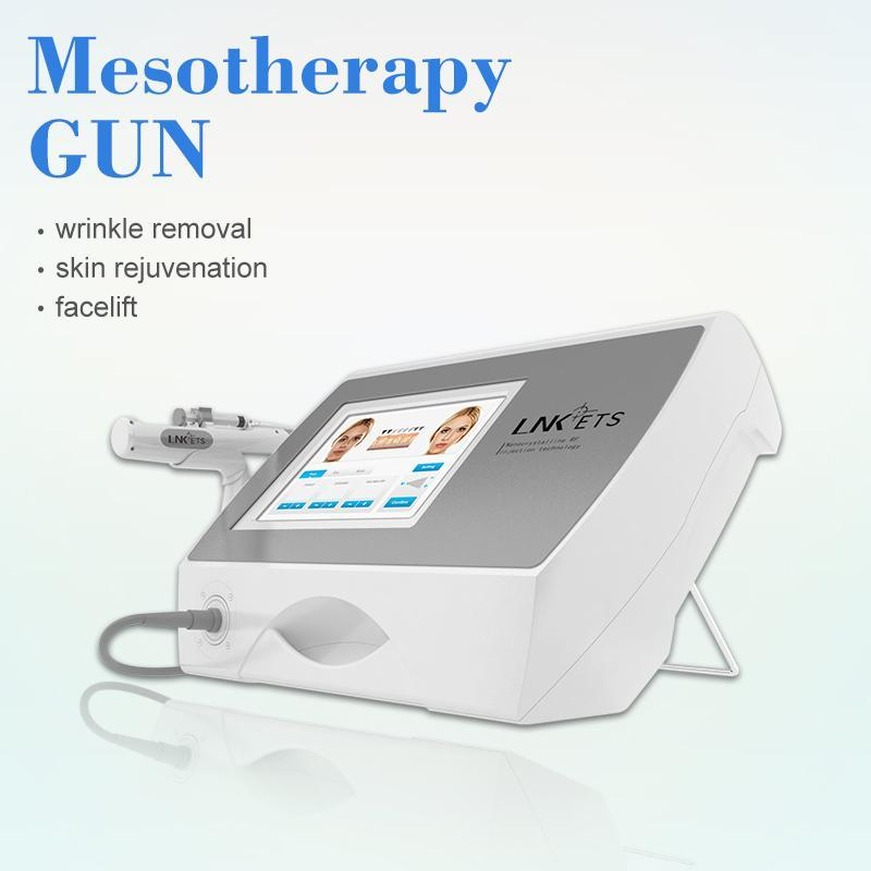 Hot Sale Portable Korea Fractional RF Needle Beauty Device With Cooling Handle Newest Anti-wrinkle No Needle Meso Therapy Injector