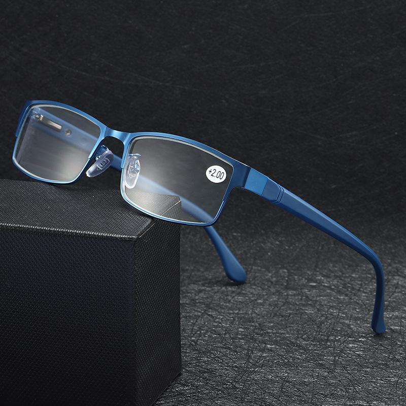 Presbyopia Metal Women Men's Men Men 1.0 نظارات Ultra 2.5 Light Reading Eyewear Eyeglasses 1.5 2.0 4.0 3.0 3.5 Tr90 Khghi