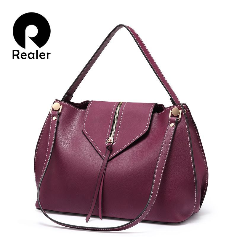Ereiser Frauen Handtaschen Designer Crossbody Umhängetaschen Künstliches Leder Hohe Qualität Hobos Damen Totes Messenger Bags Weiblich