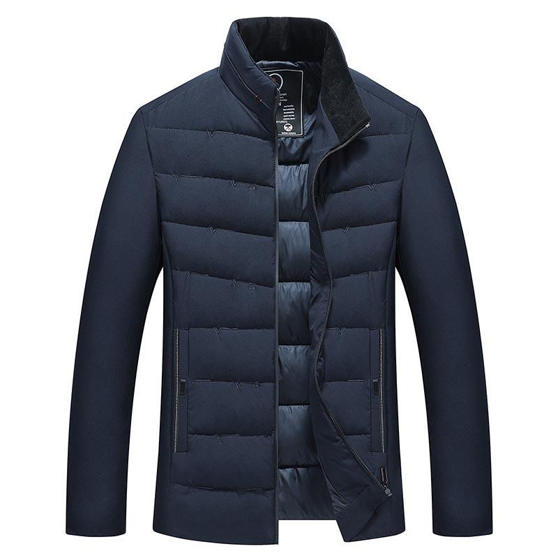 2019 novo casaco de inverno de alta qualidade homem jaqueta moda masculina macho parka