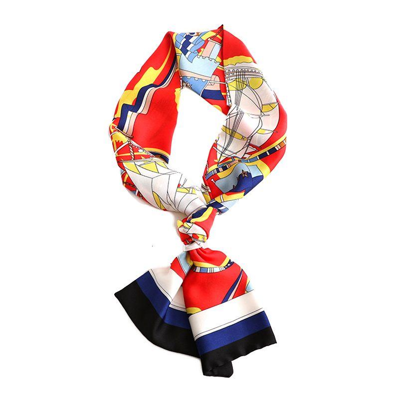 2021Fashion Slender Cachecol Padrão Decorativo Scarfs Imitação Cashmere Scarf Shawl Pashmina Acessórios Estilo Simples Retro para Meninas Mulheres