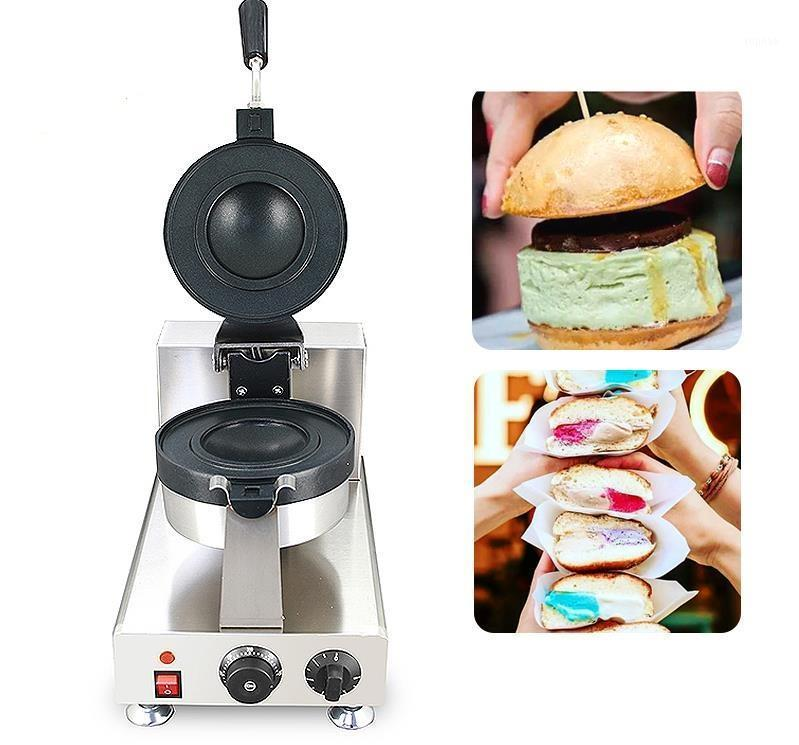 Freies Verschiffen Hot Snack Machine Italienisch Brioche Krapfenwärmer 220V Eis Creme Gelato Panini Maker / Presse mit CE-Approed1