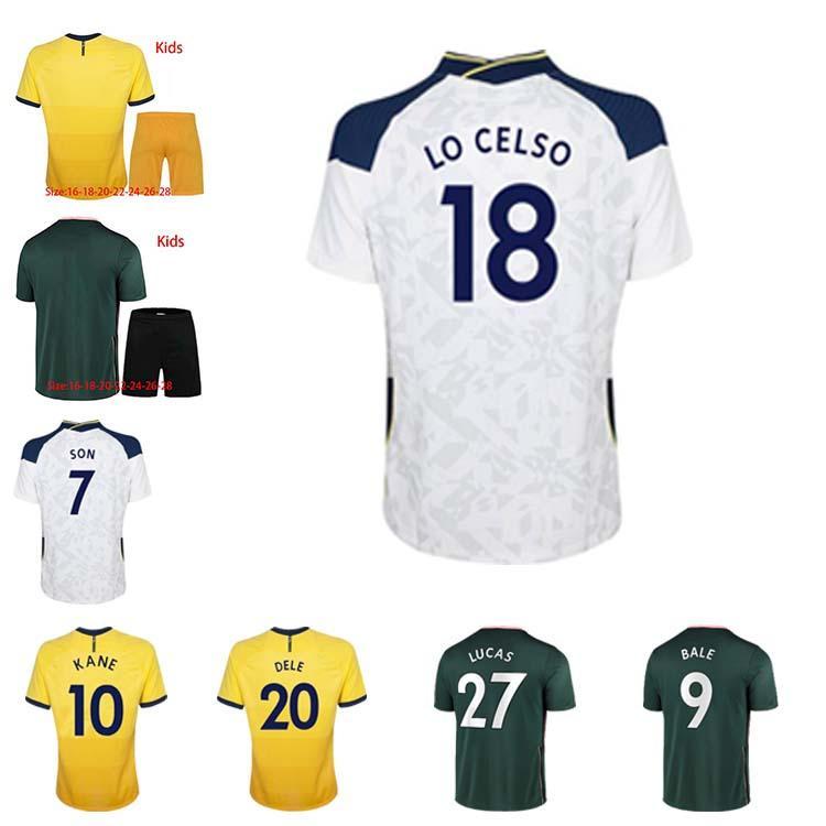 Homens + Kid Kit 2021 Reguilón Futebol Jerseys Kane Son Bergwijn Ndombele Dele Lucas Camisa de Futebol Lo Celso Morgan Bale Lamela Jersey
