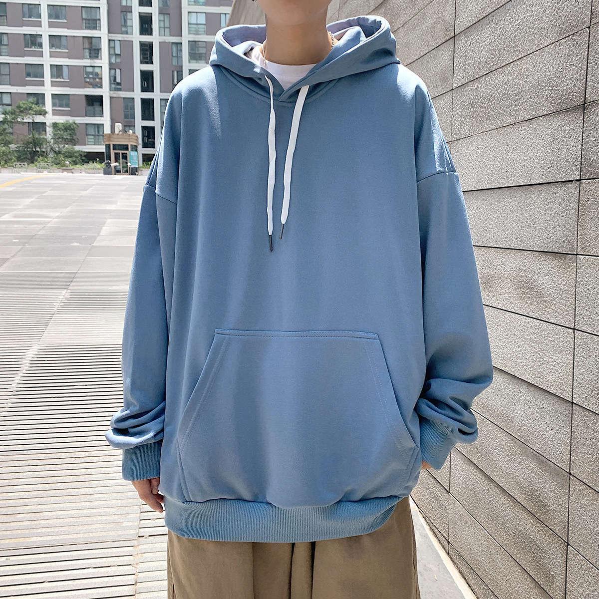 Мужская Trend Hoodie Trend: Весна и осень, потерянные модные бренды Пуловер Студенты Студенты Студенты