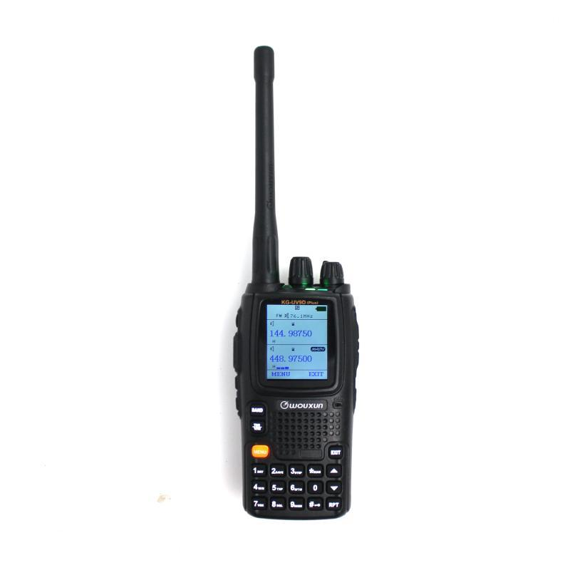 Wouxun KG-UV9Dplus 에어 밴드 VHF136-174MHzUHF400-512MHz 듀얼 밴드 양용 라디오 다중 주파수 폭 RX FM의 transcei를받을