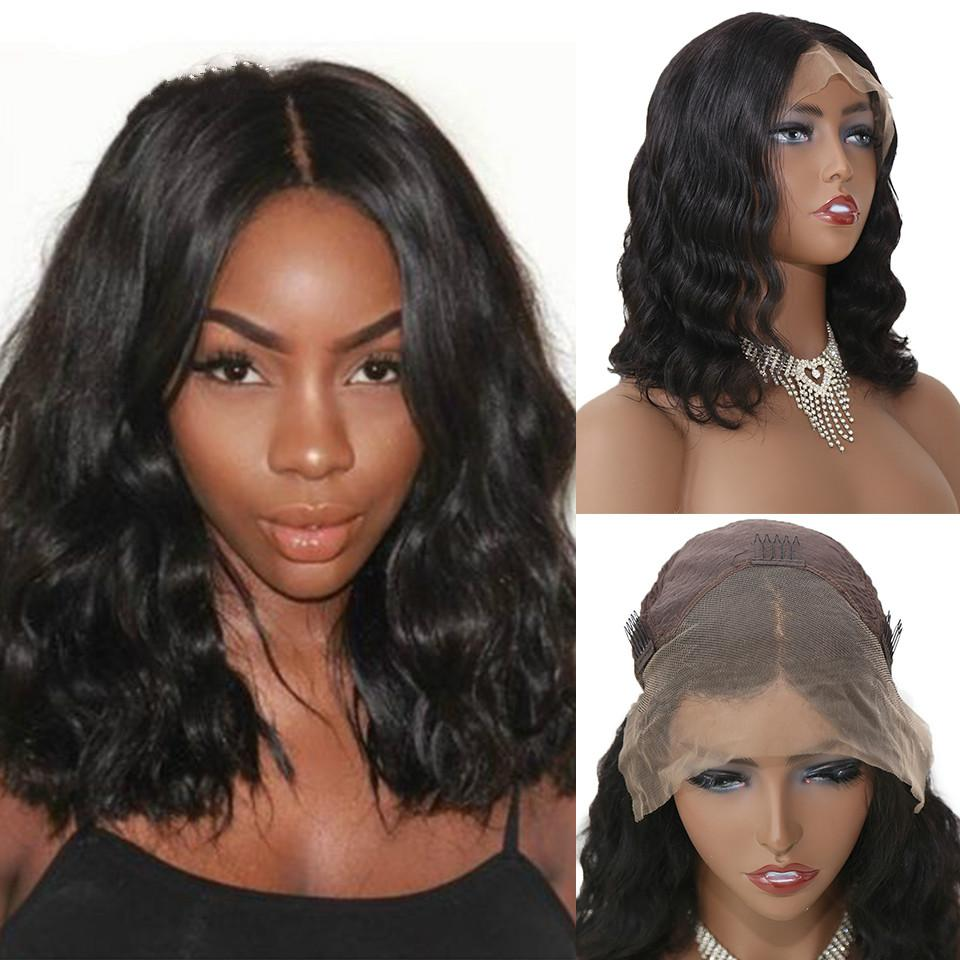 Body Wave Lace Front Human Hair Wigs Remy Peruvian Hair Body Wave Wig 150% Density 13X4 Lace Front Wigs for Black Women12