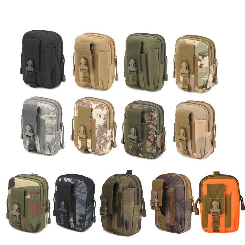 Sports en plein air Tactical Sac à dos Vest Accessoire Accessoire Camouflage Multi fonctionnaire Molle Cellule PouchTyptical Kit Pouch N ° 11-711