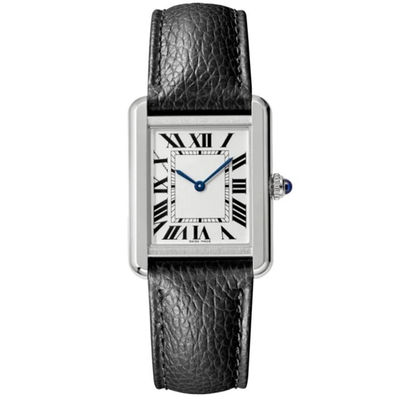 2021 뜨거운 판매 레이디 시계 새로운 패션 여성 드레스 시계 캐주얼 직사각형 가죽 스트랩 Relogio Feminino Lady Quartz Wristwatch Caijiamin