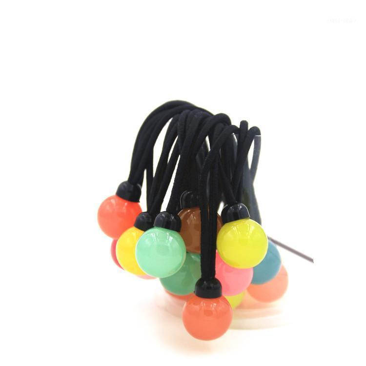 Bola Elástica Cuerda Cuerda Anillos Corbatas Bandas Portones Portones Chicas Hairband Diadema Accesorios Para El Pelo1