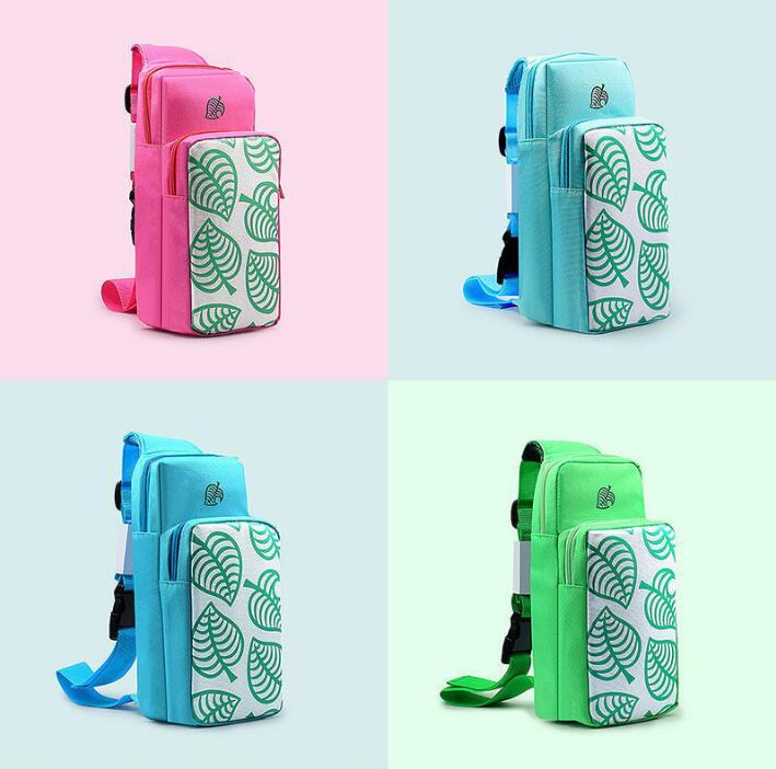 Игровая сумка для игр для Nintendo Switch Case Bag Bag Corse Body Portable Protective Storage для игровой консоли Hoy-Con Console