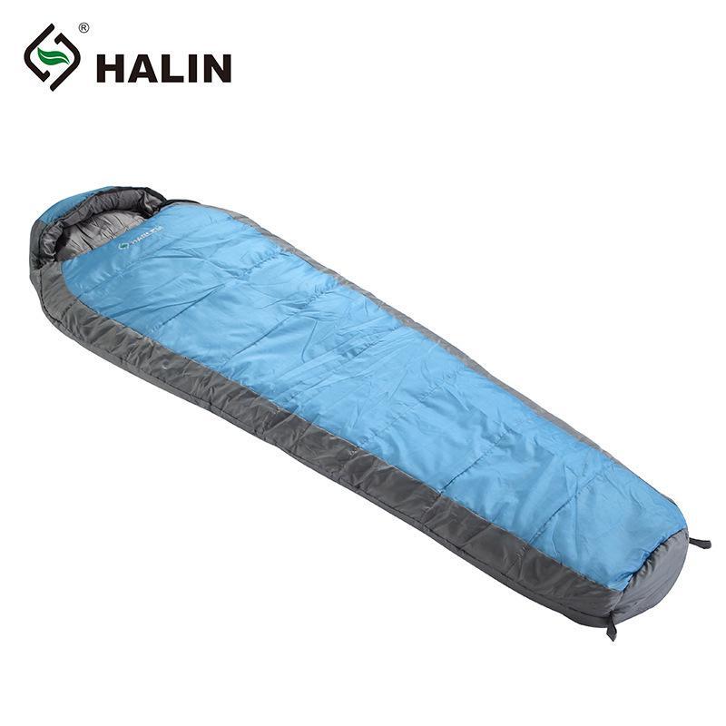 Outdoor-Winter-Doppelschicht verdickt doppeltes Doppel kann mit Baumwoll-Mumienschlafsack gespleißt werden