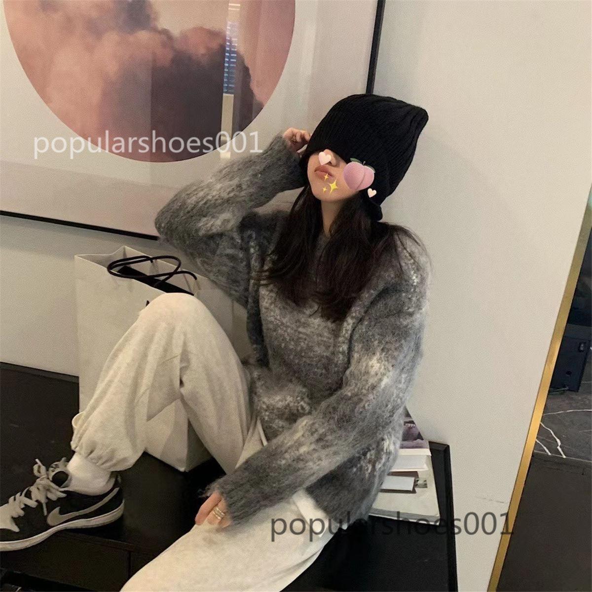 Die hochwertigen Herren- und Frauensteigungen Pullover Unisex Pullover Langarm Pullover Strickpullover Pullover Pullover Paar Pullover Eine Größe