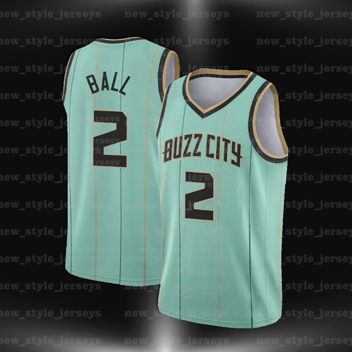 2 لاميلو 20 جوردون بول تيري هايوارد شارلوتهورنتالرجال Rozier كرة السلة الفانيلة Caleb مارتن