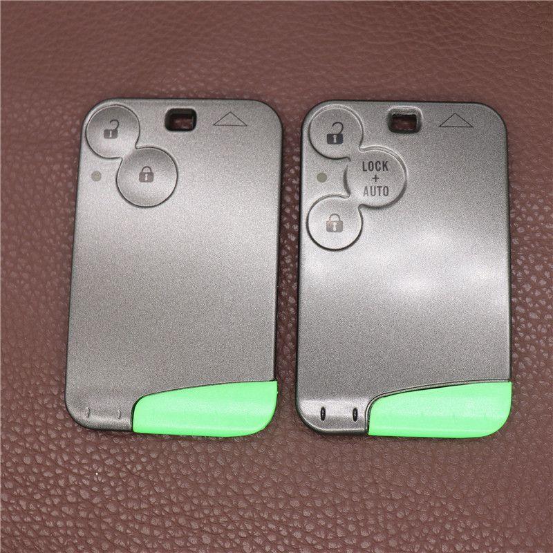 Замена ключевой карты ключевой карты для Renault Laguna Key FOB Shell 2 3 кнопка без лезвия