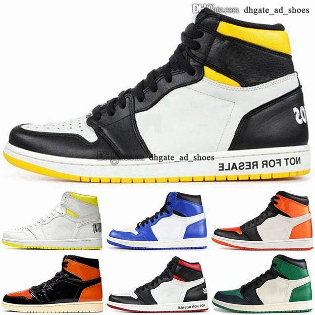35 Yüksek OG Büyük Çocuk Erkek Eğitmenler Retro Ayakkabı Trialler Siyah Basketbol 1 S Erkek 2020 Yeni Varış Sneakers 46 5 Kadın Boyutu Bize 12 Jumpman 1 EUR