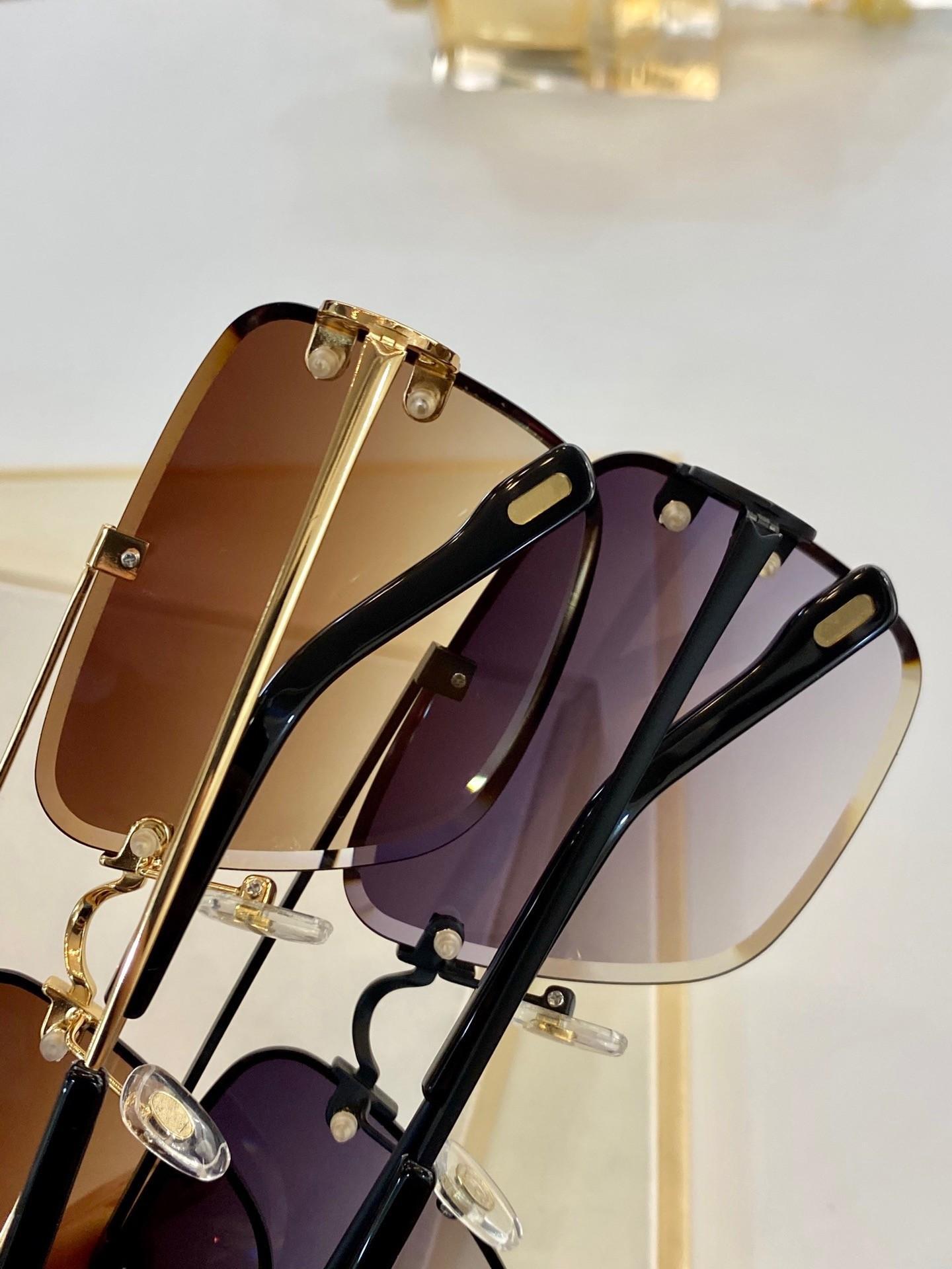 Novo com Qualidade 0268 Olhos Óculos de Sol Homens Óculos de Sol Protege Gafas Sol Estilo Caso Mens Top de Moda Lunettes de Sol Óculos Soleil W Lglx