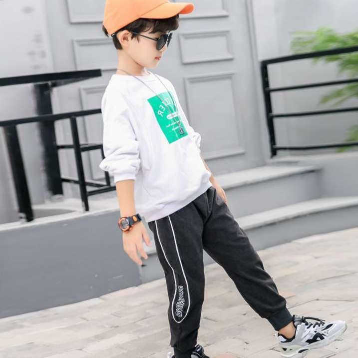 Pantalon Personnes Enfants Printemps et Automne Pantalon Casual Boys and Girls Pantalons de sport pour enfants bébé