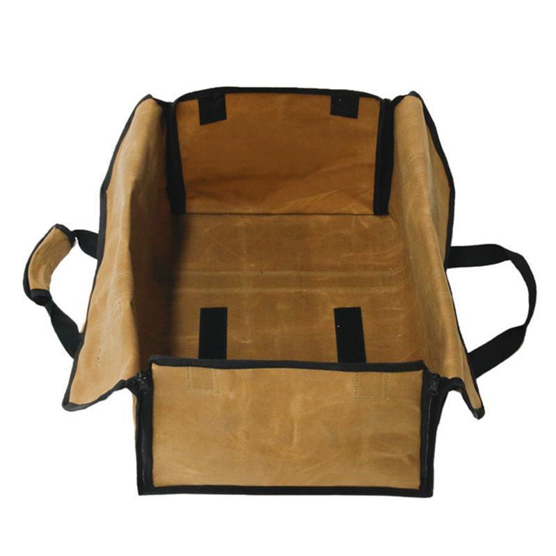 Dauerhaftes log brennholz log nützlich 1 stück tote tote handtasche brennholz halter träger träger praktisch wasserdicht vsgdu