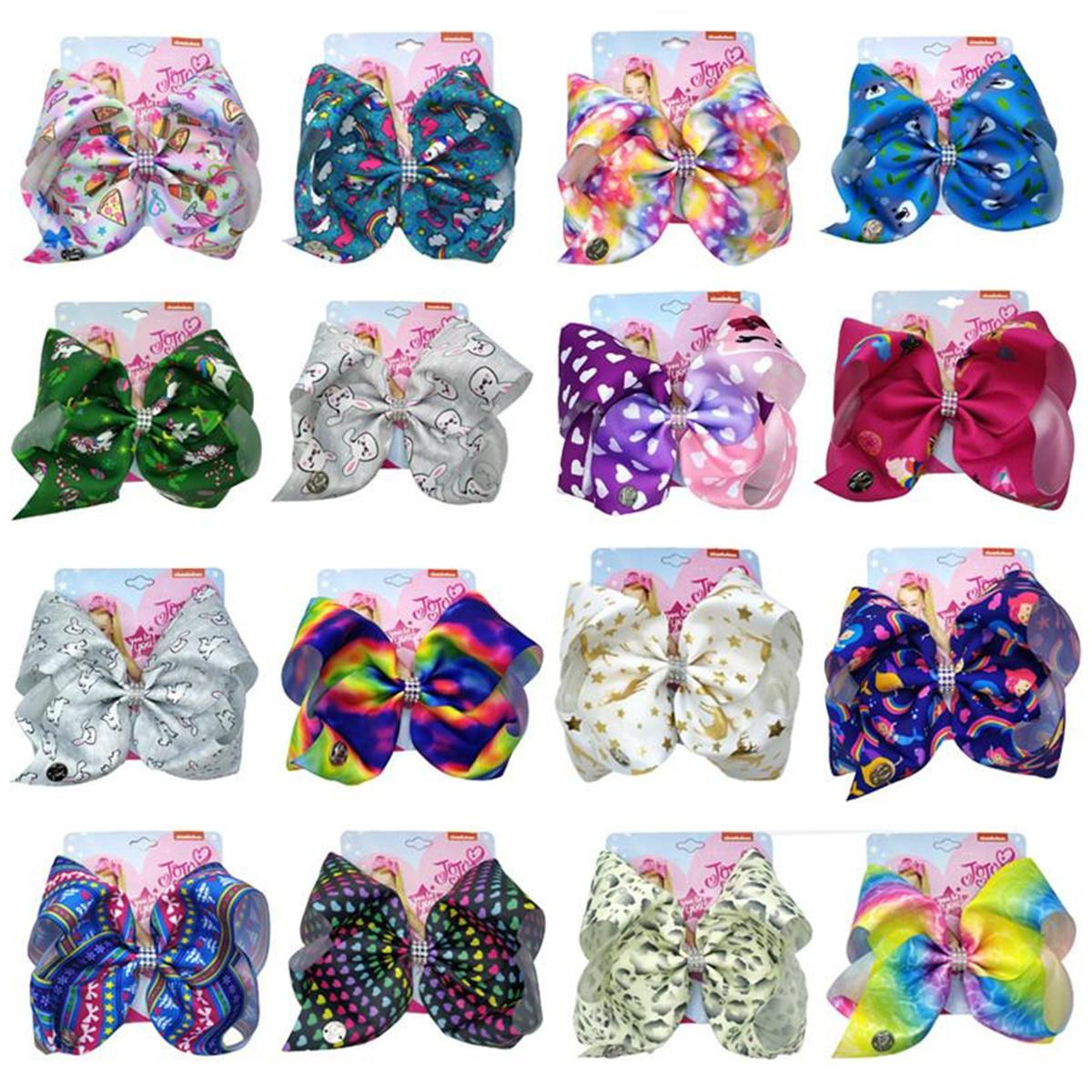 Мода Девушки Swia Bow Hair Clip Bows Bowlfly Knot Hairclip Barnettes Для Детских Художник Прикосновение Прикосновение Волос Аксессуар с картонными подарками