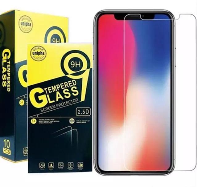Telefone 12 protetor de tela de vidro temperado 9h 2.5d 0.33mm Protetor de tela de alta qualidade transparente