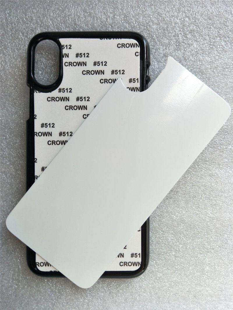 TPU + PC 부드러운 2D 승화 아이폰 12 미니 11 Pro Max 7 8 Plus X XS XR 용 알루미늄 인서트가있는 빈 열전달 전화 케이스