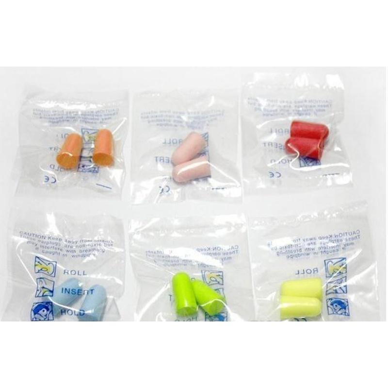 Fabrikpreis! Neue Verkauf Schaum Schwamm Ohrstöpsel Ideal zum Reisen schlafen Reduzieren Sie Nois Sqchjc Hairflipper2011