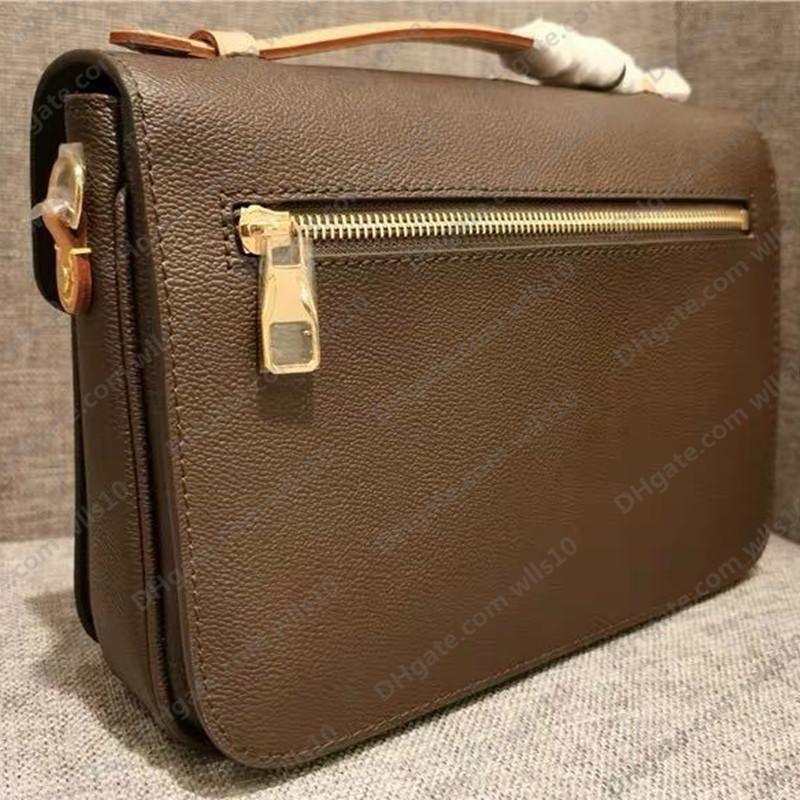 Quality Femmes Pursards Sac LB83 Sac Femme Sac en cuir Haute Pochette Métis Sacs à bandoulière Handbags Code série M40780 Véritable WKBAN
