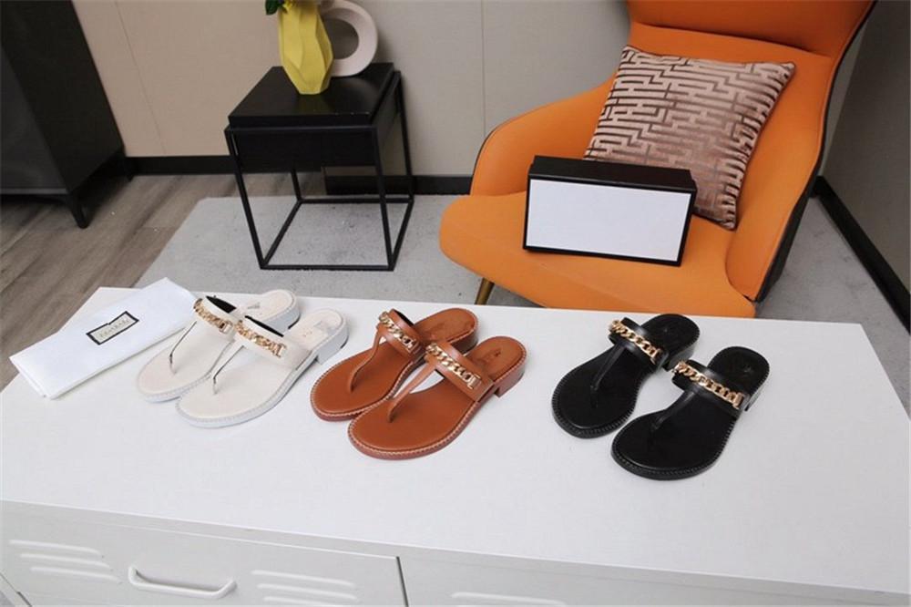 Gucci Sandálias de deslizamento feminino Designer cria sandálias casuais de praia de alta qualidade disponíveis em uma variedade de cores op