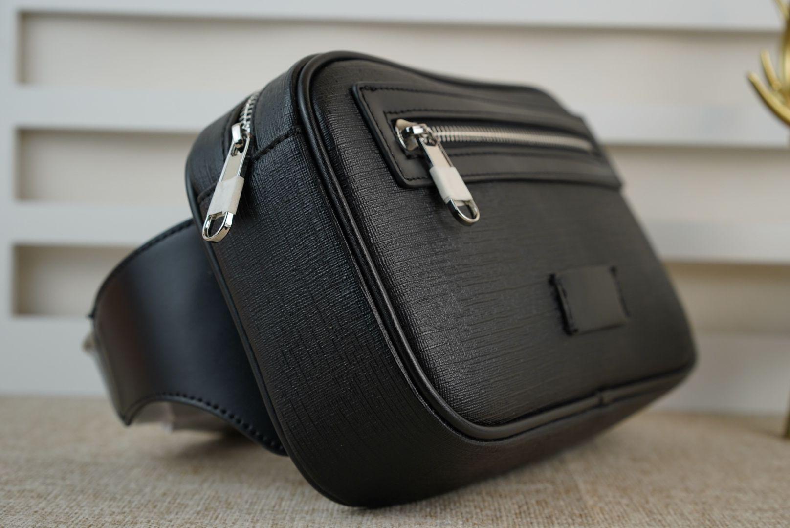 Top Quality Unisex Homens Mulheres Couro Esporte Corredor Fanny Pack Bar Barrly Cintura Bag Fitness Running Correndo Bolsa De Caixa De Retorno Bolsas De Grade