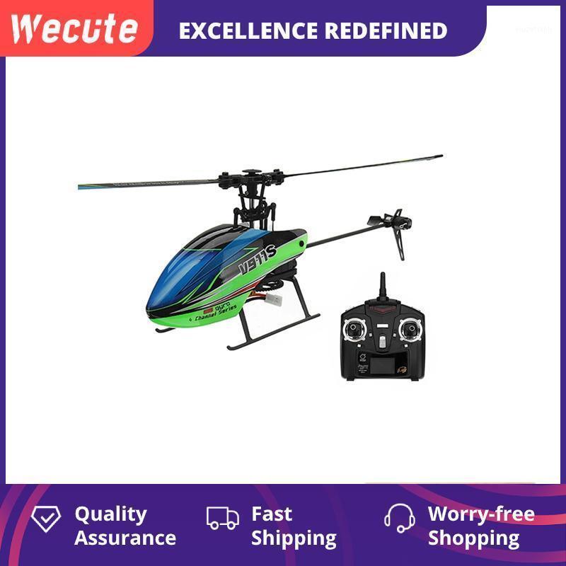 WECUTE V911S 4CH 6G 6-AIXS Hyro Hyro Pripelller Non-Aileeron RC Вертолет с гироскопом Пульт дистанционного управления RTF Toys Boy Gift1